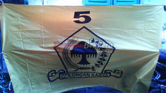 jual bendera partai politik golkar