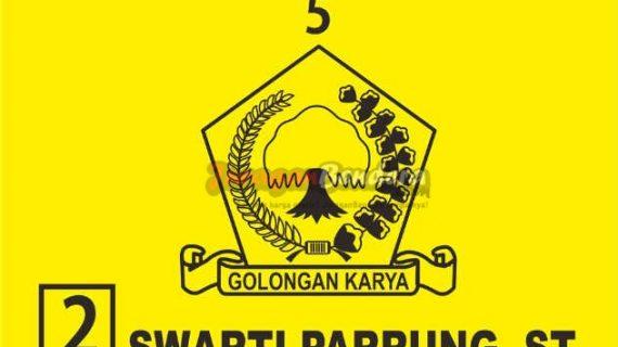 desain bendera caleg partai Golkar