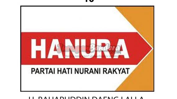 desain bendera caleg partai hanura