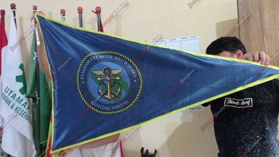 Bikin Bendera Custom Lanudal Sabang