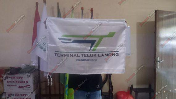 Custom Bendera Terminal Teluk Lamong