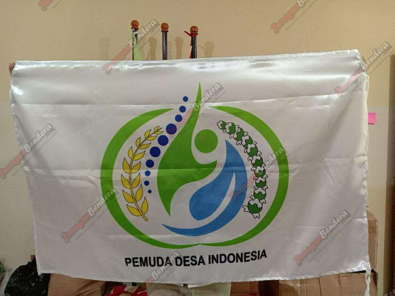 bendera custom pemuda desa indonesia